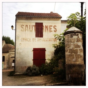 The town of Sauternes was a beautiful surprise.