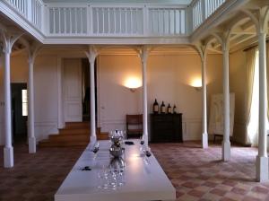 The tasting room.