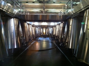 The vats were an impressive sight.