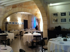 The restaurant St. Julien.