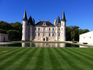 The captivating Pichon Baron.