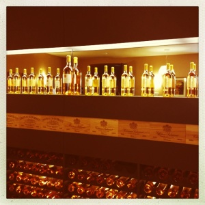 A spectacular display of Sauternes.