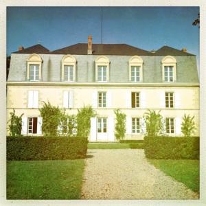 The charming Chateau Guiraud.