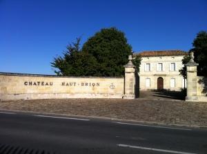 Chateau Haut Brion.