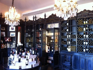 The tasting room was also ornate.
