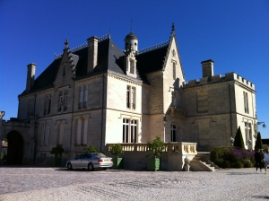 Chateau Pape-Clement.