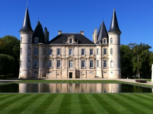 The captivating chateau.