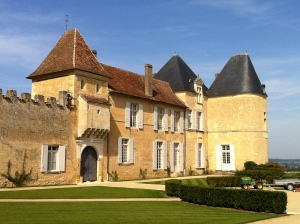 Another view.  The Chateau has a very Medieval feel to it.
