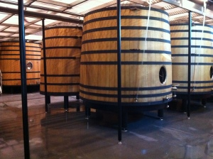 A beautiful vat room.