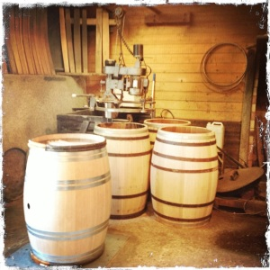 The cooperage.