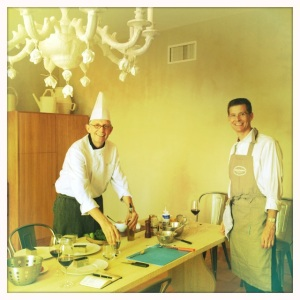 Bob Watt and Chef Phillipe Scandrol.