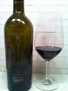 2007 Doubleback Cabernet Sauvignon.