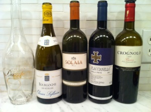 Great friends, great wines.